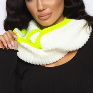 Pop Of Color Infinity Scarf